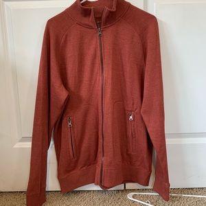 Men's zip up sweater